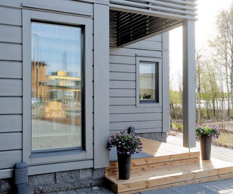 Laadukkaat ikkunat ja ulko-ovet