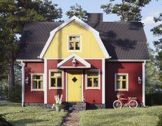 Keltaiset ovet ja ikkunat