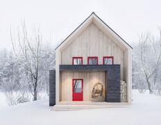 Punaiset ikkuna ja ovet