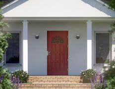 Rohkean väriset ulko-ovet